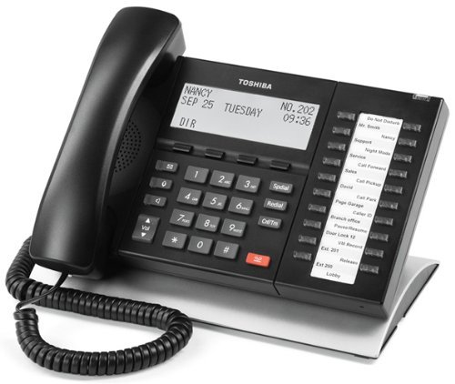 (Toshiba DP5132SD 20 button speaker and backlit display digital telephone (Certified Refurbished))