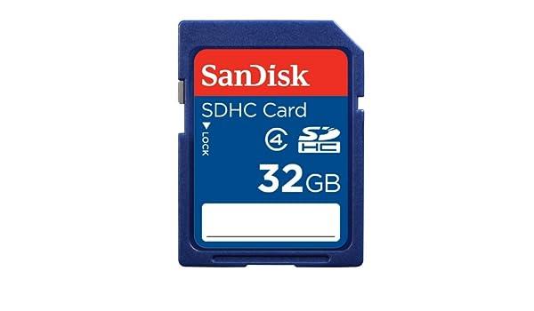 Sandisk 32GB SDHC memoria flash Clase 4 - Tarjeta de memoria ...
