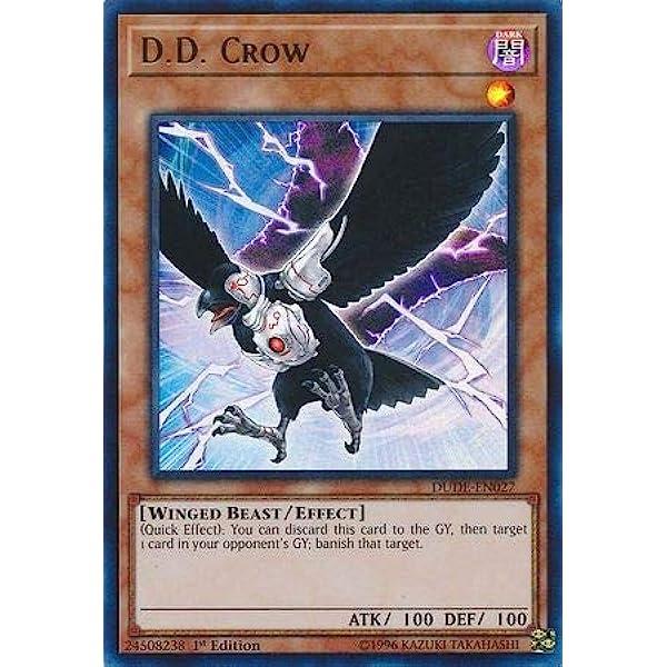 Crow DUDE-EN027 1st Edition Ultra Rare Mint Yugioh D.D
