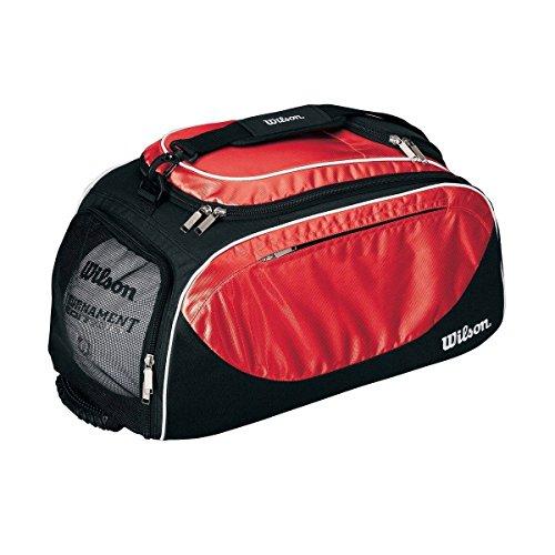 Wilson Sport Bag/Backpack, Black/Scarlet by Wilson
