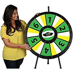 12 to 24 Slot Tabletop Prize Wheel (31 Inch Diameter)