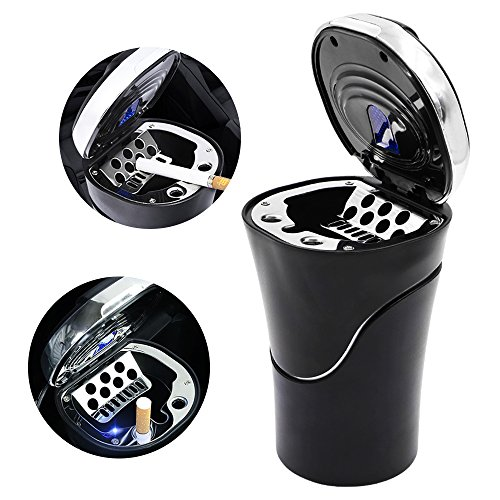 Led Lighted Ashtray