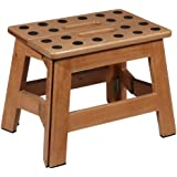 Puhlmann James Foldable Wooden Stool  sc 1 st  Amazon.com & Amazon.com: Wood - Step Stools / Kidsu0027 Furniture: Home u0026 Kitchen islam-shia.org