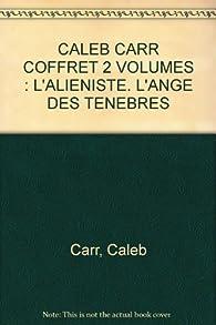 Caleb Carr, coffret, 2 volumes par Caleb Carr