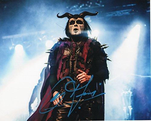 Cradle Of Filth Dani Signed Concert 8x10