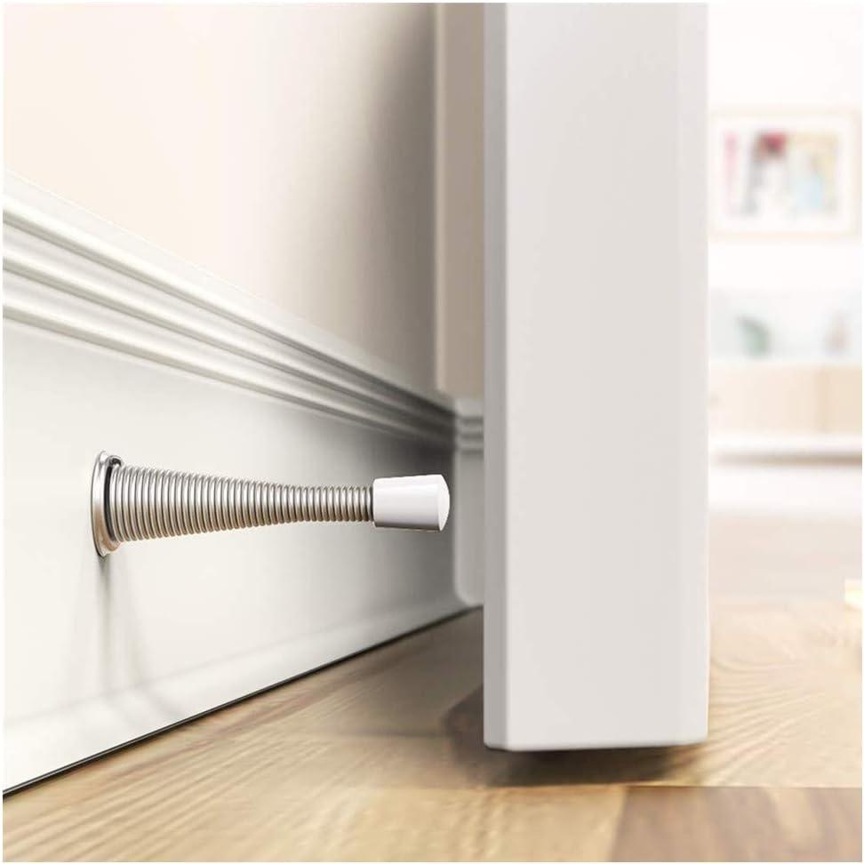 A fuqimama Spring Door Stopper Door Stop Wall Decorative Door Stopper Protect Doors /& Wall
