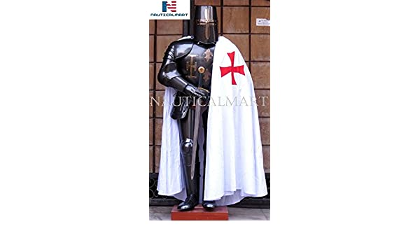 Amazon.com: NauticalMart Medieval Templar Full Suit of Armor ...