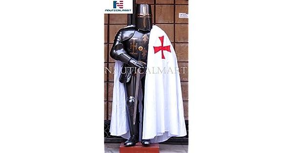 Amazon.com: Nauticalart, traje de caballero medieval de ...