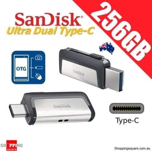 SanDisk 16GB 32GB 64GB OTG Type-C Ultra Dual USB 3.1 Flash Thumb Drive 150MB//s