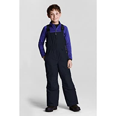 8d534097f Amazon.com  Lands  End Little Boys  Waterproof Squall Snow Bibs