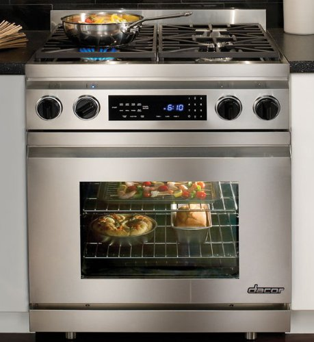 4 Burner Dual Fuel Range - 7