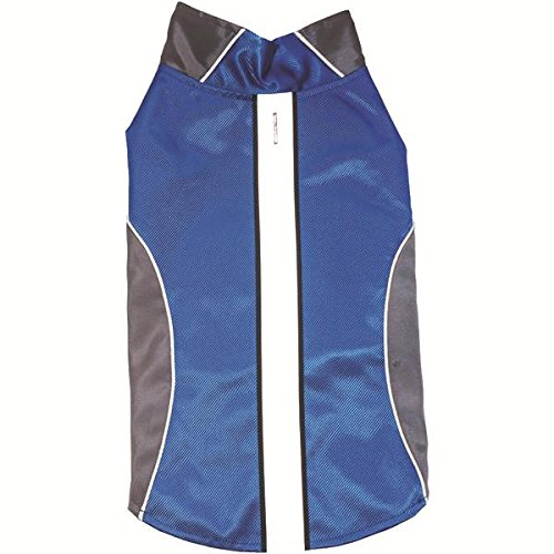 Royal Animals Sw15007b -S Water-Resistant Dog Raincoat With Reflective Stripes, Blue (small) 8.50in. x 6.00in. x 1.00in