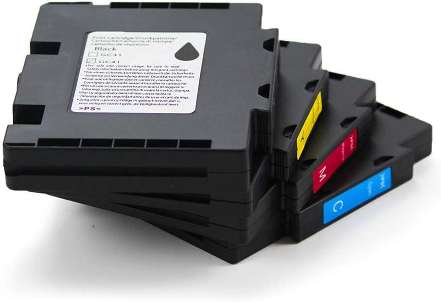 Teng® - Cartuchos de Tinta Ricoh GC-41 GC41 compatibles con Ricoh ...