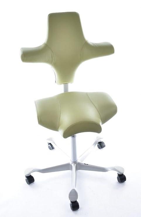 Hag Sedie Per Ufficio.Modello Hag Atg56100 Hag Capisco 8106 Sella In Pelle Verde Sedia