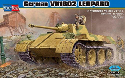 1602 Leopard Vehicle Model Building Kit (Leopard Grille)