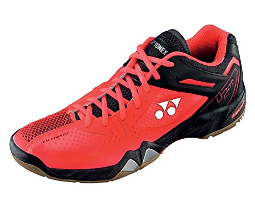 YONEX SHB02LTD Zapatilla de Bádminton Caballero, Rojo, 44 Rojo