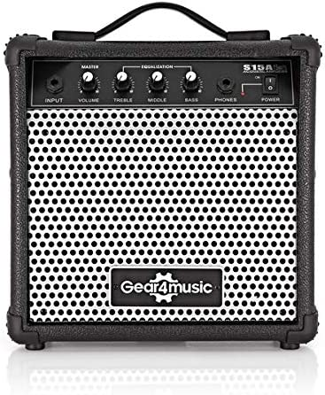 Amplificador de Guitarra Acustica de 15W de Gear4music: Amazon.es ...