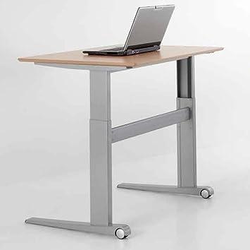 Conset Electric Adjustable Height Office Table Desk 46u0026quot; X 29u0026quot;  Rectangle Top, 26u0026quot