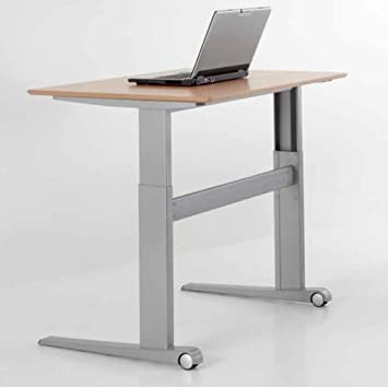height adjustable standing desk office depot electric table rectangle top ikea legs