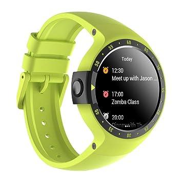 57d10acecc045 Ticwatch S Aurora Smartwatch Bluetooth Montre Connectée avec écran OLED 1,4  Pouces, Android