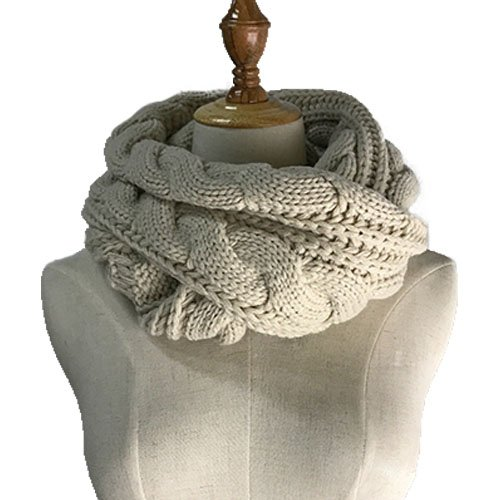 Ribbed Wool Scarf - 3