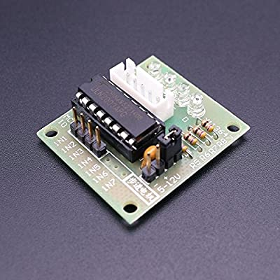 Easyget 5pcs Sets 28BYJ-48 ULN2003 5V Stepper Motor + ULN2003 Driver Board  for Arduino
