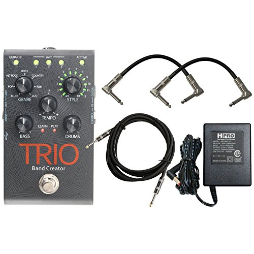 Digitech Trio Band Creator Pedal w/ Power Supply and 3 Cables