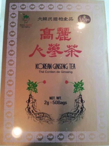 Korean Ginseng Tea 3g x 50 Bags Energy Drink Instant Tea