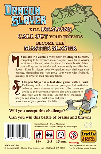 Dragon Slayer Board Game - http://coolthings.us