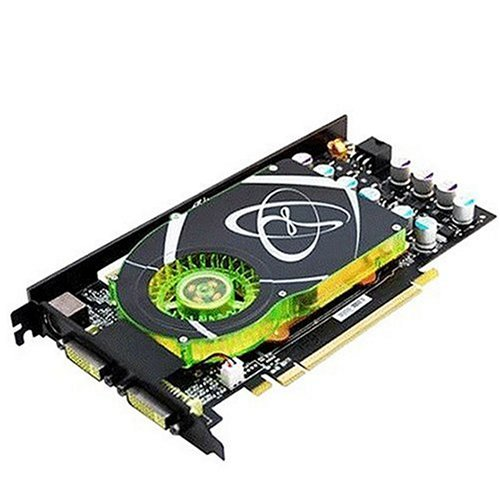 XFX PVT84GYDQ3 GeForce 8600GTS 512MB GDDR3 675Mhz PCI Express x16 SLI Ready Video Card ( Dual DVI / S-video ) - Geforce 8600gts Pci Express