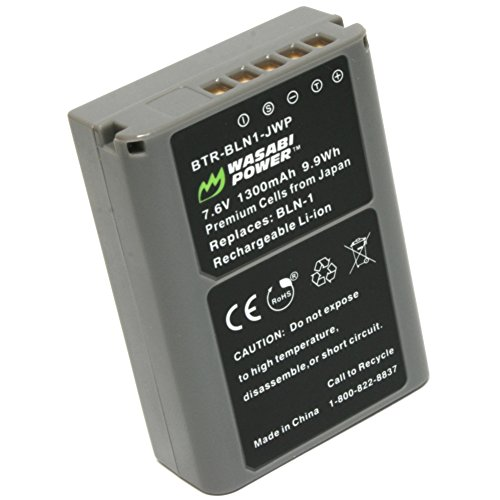 Wasabi Power Battery for Olympus BLN-1, BCN-1