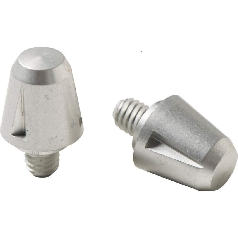 Kakari Light//Malice//Incurza 14mm 11mm Aluminium Studs 12 Pack Silver
