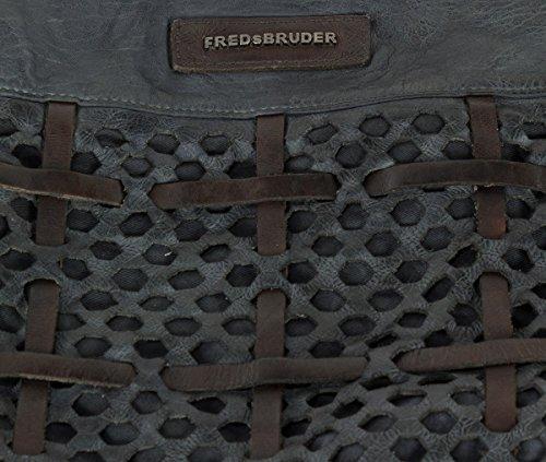 FredsBruder Functional Borsa hobo grigio scuro