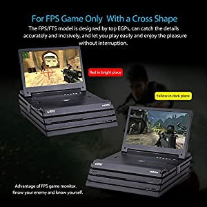 G-STORY 11.6 Inch Screen Full HD 1080P Portable Gaming Monitor for PS4 Pro(PS4 Pro not included) With HDMI Cable, Built-in Stereo Speaker, UL Certificated AC Adapter