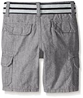 U.S. Polo Assn. Boys' Belted Chambray Ca...
