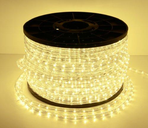 LED Licht Schlauch Lichtschlauch Leiste Lichterkette Innen- und Außenbereich Warmweiß