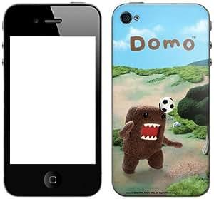 Zing Revolution Domo Premium Vinyl Adhesive Skin for iPhone 4/4S, Domo Soccer (MS-DOMO80133) hjbrhga1544