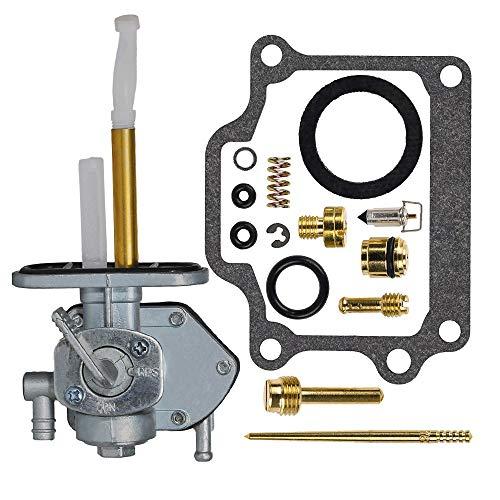 - SaferCCTV Suzuki LT80 LT 80 Fuel Gas Petcock Valve Switch Pump with Carburetor Rebuild Kit for 1987 1988 1989 1990 1991 1992 1993 1994 1995 1996 1997 1998 1999 2000 2001 2003 2004 2005 2006 ATV Quad