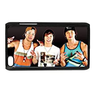 CTSLR Emblem3 Emblem 3 Hard Case Cover Skin for iPod Touch 4 4G 4th Generation- 1 Pack - Black/White - 3- Perfect Gift for Christmas