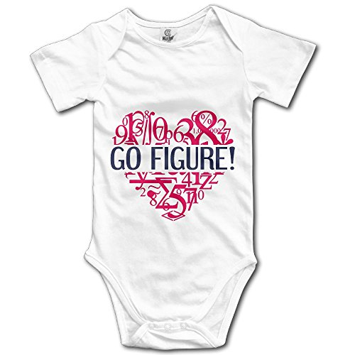 902deb59413 SOURCE POINT I Love Math Equation Newborn Girl Boy Romper Jumpsuit Bodysuit  Baby Outfits Infant Clothes