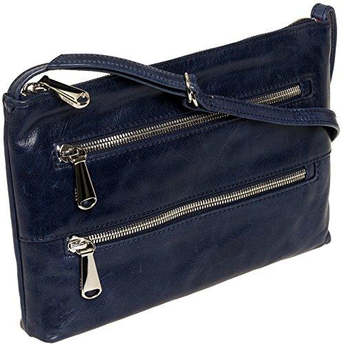 [Hobo Womens Leather Vintage Mara Crossbody Bag (Royal)] (Hobo Purse)