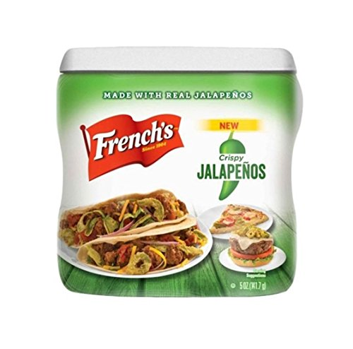 French's Crispy Fried Jalapenos, 5 Ounce (Frenches Fried Onions compare prices)