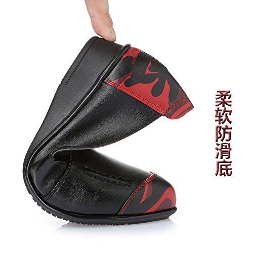 Mère Les De Printemps Femmes Chaussures De Vieilles Chaussures Chaussures À Des KHSKX 40 50 Printemps Plates Ans Coréennes Femmes black Des À Correspond twX6xdEnq