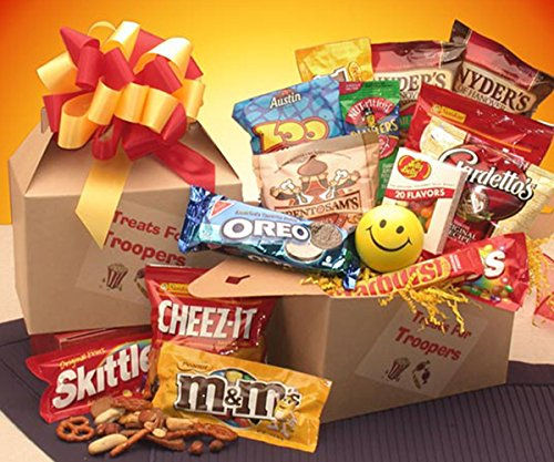 Fpo Address (FPO - Treats for Troopers Snack Package - Large)