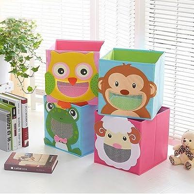 Qixing – Caja de almacenaje niños cajón en Oxford cubo de ...