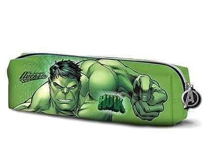 Estuche escolar simple 22 cm Hulk Avengers: Amazon.es ...
