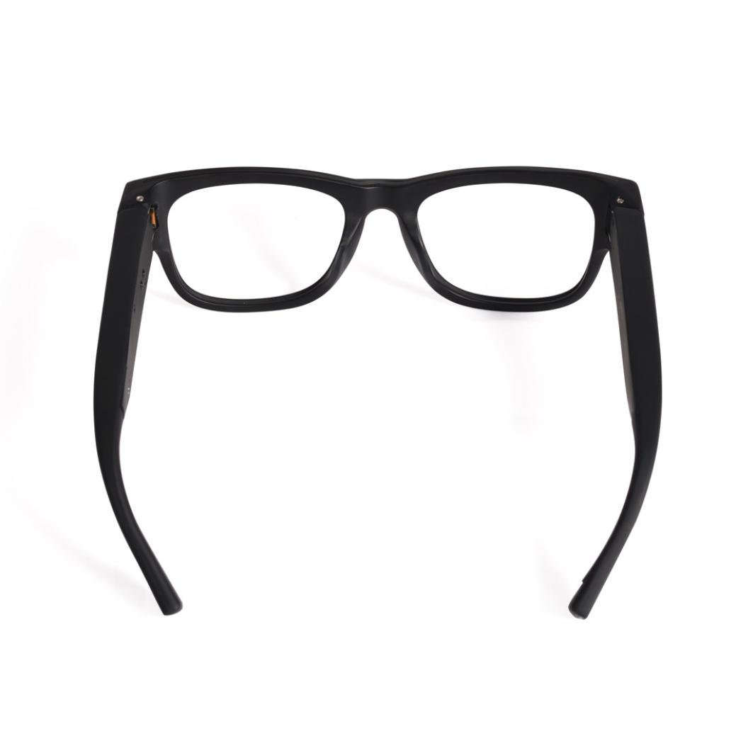 Video Glasses, Hometom Smart Live Streaming Glasses FHD 1080P Cap Hidden WIFI Camera Video Glasses Cam (Black) by Hometom (Image #6)