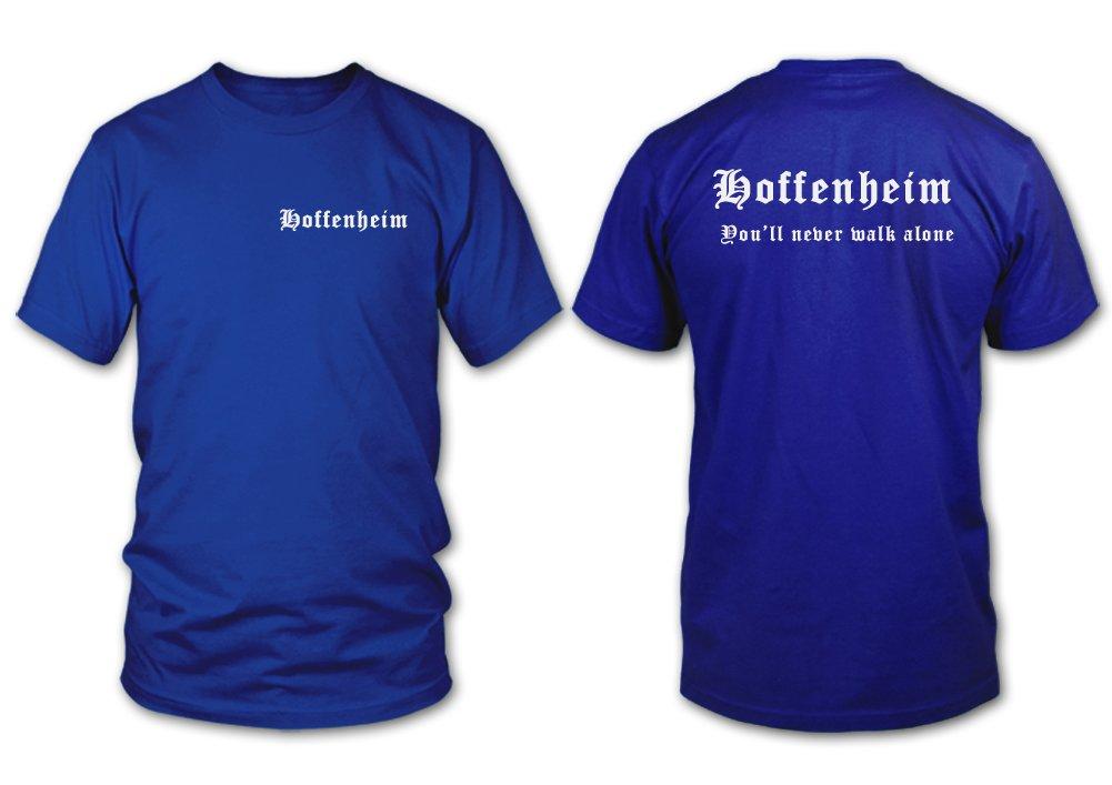 3XL Hoffenheim Fan T-Shirt Gr/ö/ße S shirtloge Mein Verein Meine Heimat