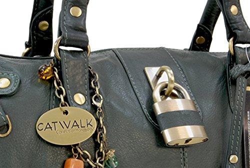 Chancery à Vert Sac main Collection cuir Catwalk en xvwInfaq