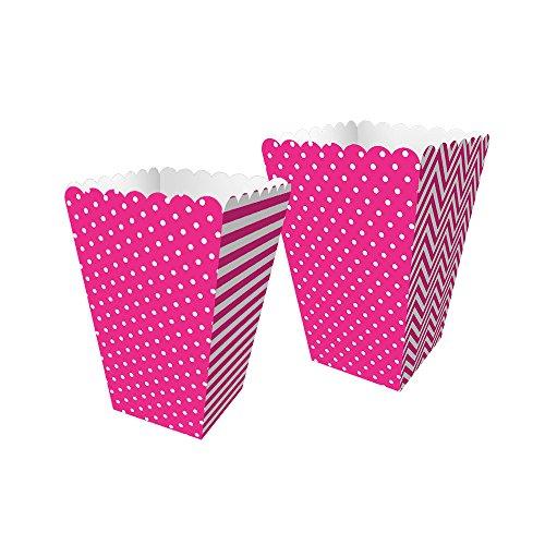Regina Caixa Mini Pipoca Fa R569 Festa Colors Pink Pacote De 8 unidades